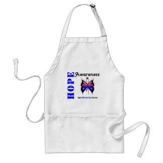 Male Breast Cancer Hope Awareness Adult Apron