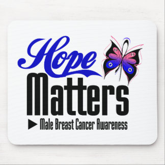 Male Breast Cancer HOPE MATTERS Mousepad