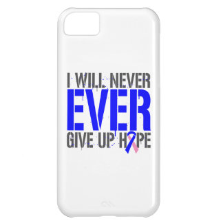 Male Breast Cancer I Will Never Ever Give Up Hope Cover For iPhone 5C