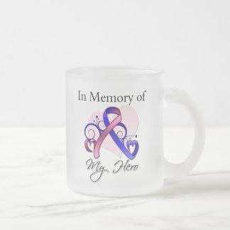 Male Breast Cancer In Memory of My Hero Mug