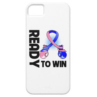 Male Breast Cancer Ready To Win iPhone 5 Cover