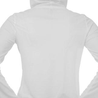 Male Breast Cancer Ribbon Powerful Slogans Hooded Sweatshirts