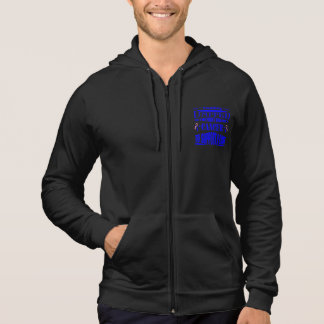 Male Breast Cancer Standing United Hooded Sweatshirts
