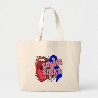 Male Breast Cancer Sucks Scream It Tote Bag