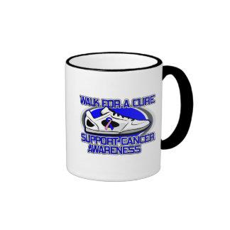 Male Breast Cancer Walk For A Cure Coffee Mug