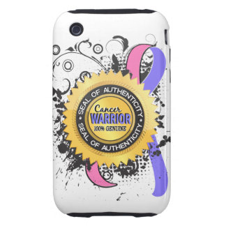 Male Breast Cancer Warrior 23 iPhone 3 Tough Covers