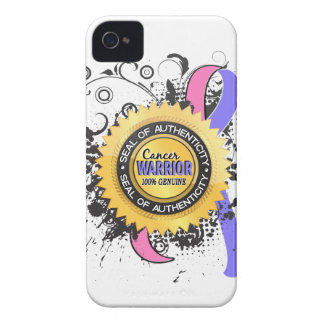 Male Breast Cancer Warrior 23 iPhone 4 Case