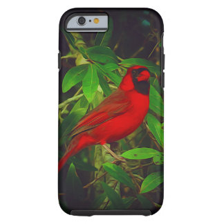 Male Cardinal in tree Tough iPhone 6 Case