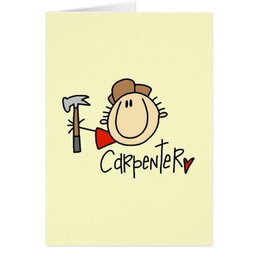 Male Carpenter Card