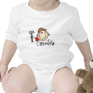 Male Carpenter Baby Bodysuits
