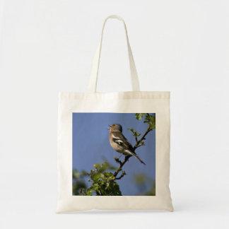 Male Chaffinch Singing Bag
