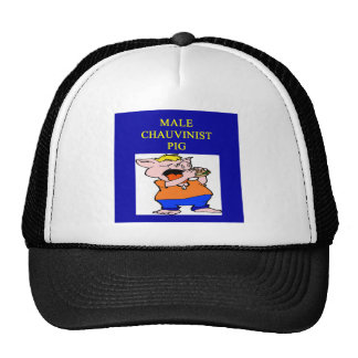 male chauvinist pig cap