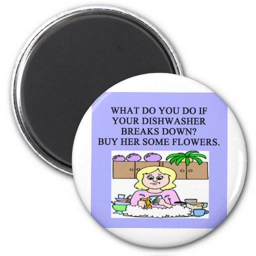 male chauvinist pig joke fridge magnets