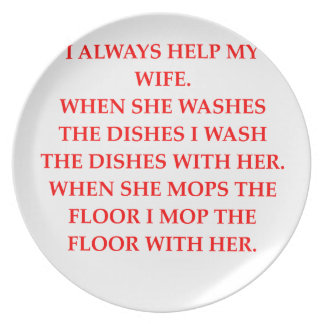 male chauvinist pig plate