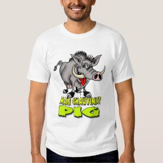 Male Chauvinist Pig Tshirts