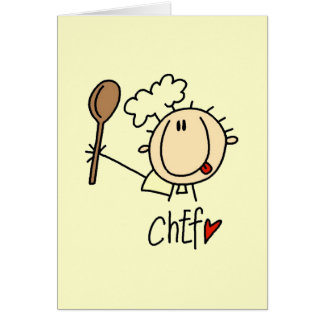Male Chef Greeting Cards