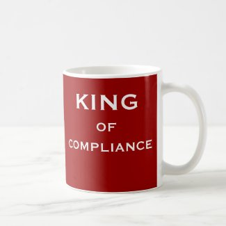 Male Compliance Officer Funny Man Nickname Mug