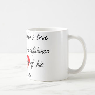 Male Dance Teacher - Building Confidence Classic White Coffee Mug