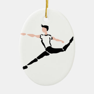 MALE DANCER CHRISTMAS ORNAMENT