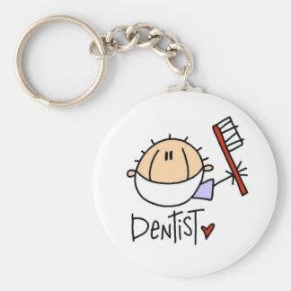 Male Dentist Keychain