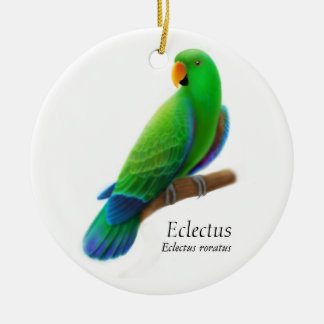 Male Eclectus Parrot Ornament