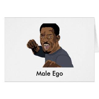 Male Ego Note Card