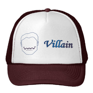 Male Evil Villain Fan Cap