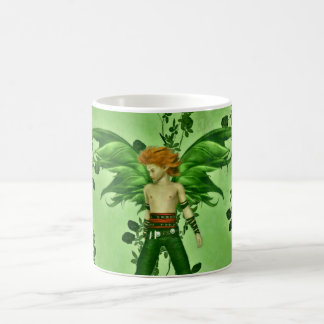 Male fantasy fairy coffee mug