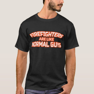 Male Firefighter T Shirt - Fireman Gifts