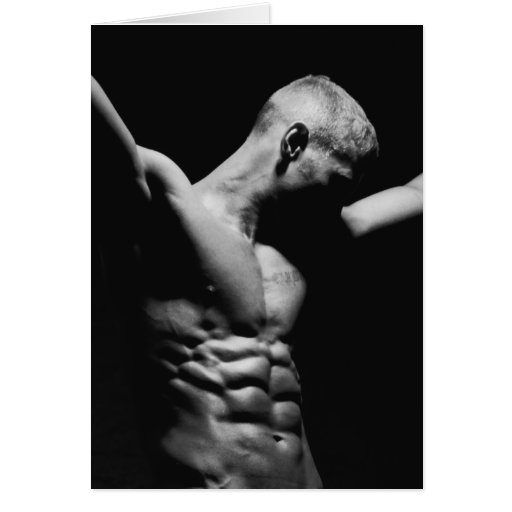 Male Form Art Notecard Greeting Cards