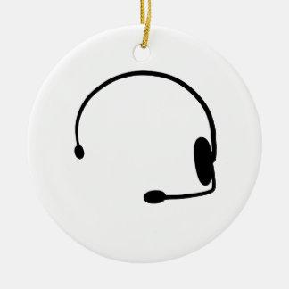 Male Gamer Christmas Ornament