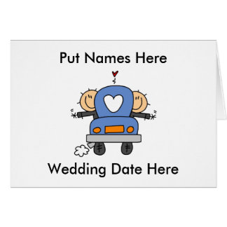 Male Gay Wedding To Customize Greeting Cards