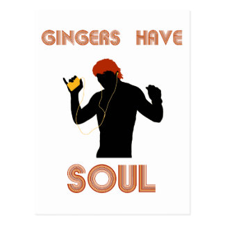 Male Gingers Have Soul Post Cards