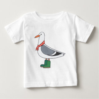 Male Gull - Scarf and Boots Baby T-Shirt