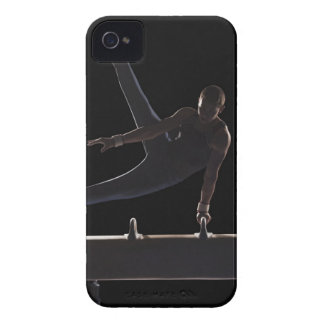 Male gymnast on pommel horse Case-Mate iPhone 4 case