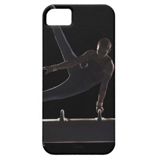 Male gymnast on pommel horse iPhone 5 cover