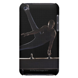Male gymnast on pommel horse iPod touch cover