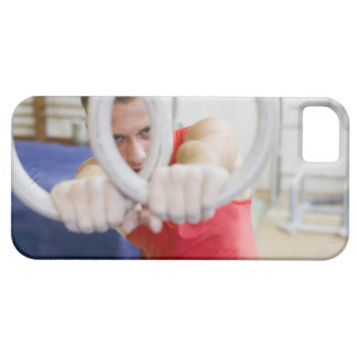 Male gymnast on rings barely there iPhone 5 case