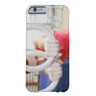 Male gymnast on rings barely there iPhone 6 case
