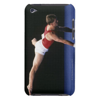 Male gymnast peforming a routine in the floor barely there iPod covers