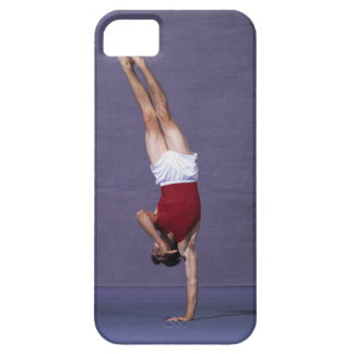 Male gymnast performing on the floor exercise 2 iPhone 5 cover