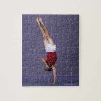 Male gymnast performing on the floor exercise 2 jigsaw puzzle