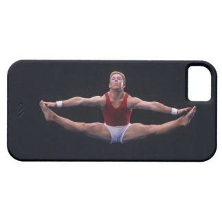Male gymnast performing on the floor exercise case for the iPhone 5