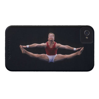 Male gymnast performing on the floor exercise Case-Mate iPhone 4 cases