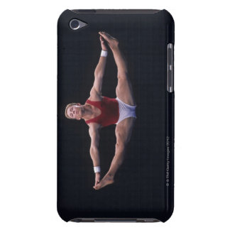 Male gymnast performing on the floor exercise iPod Case-Mate case