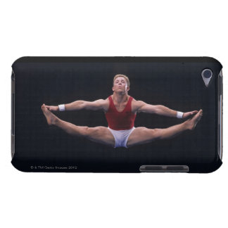 Male gymnast performing on the floor exercise iPod touch cover