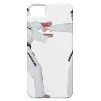 Male karate instructor teaching martial arts to iPhone 5 cases