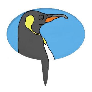 Male King Penguin Cake Picks