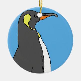 Male King Penguin Christmas Ornament