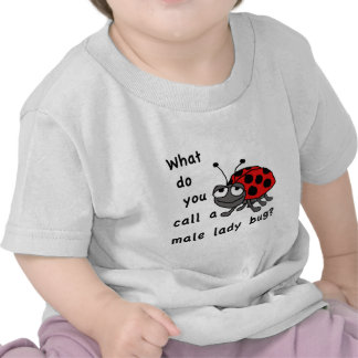 Male Lady Bug Tee Shirt